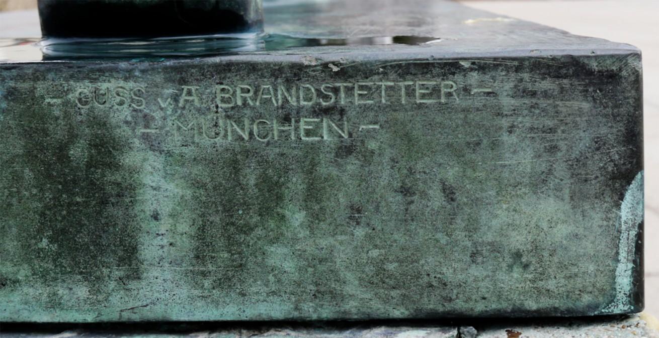 Guss v. A. Brandstetter München
