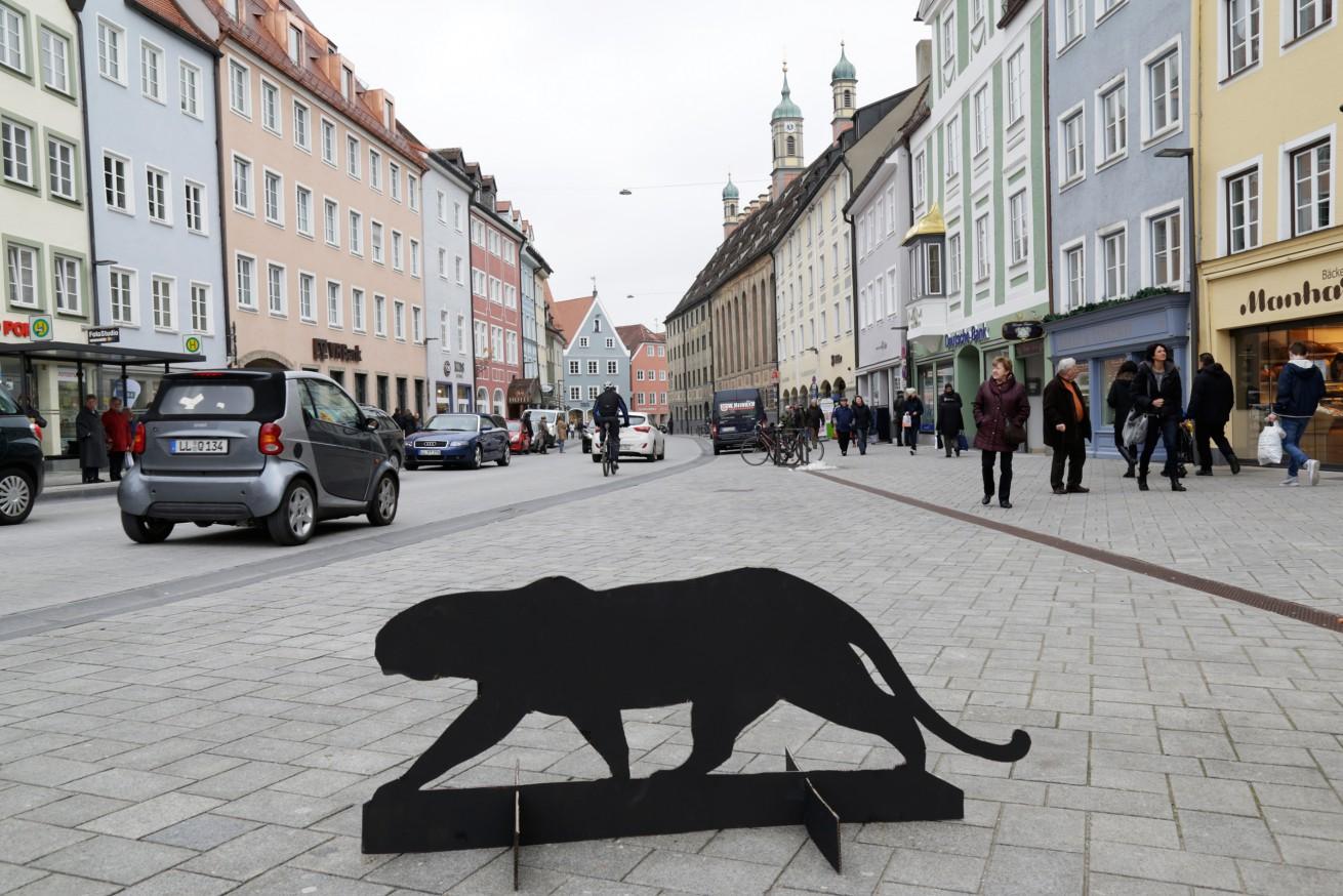 Der Panther in der Stadt